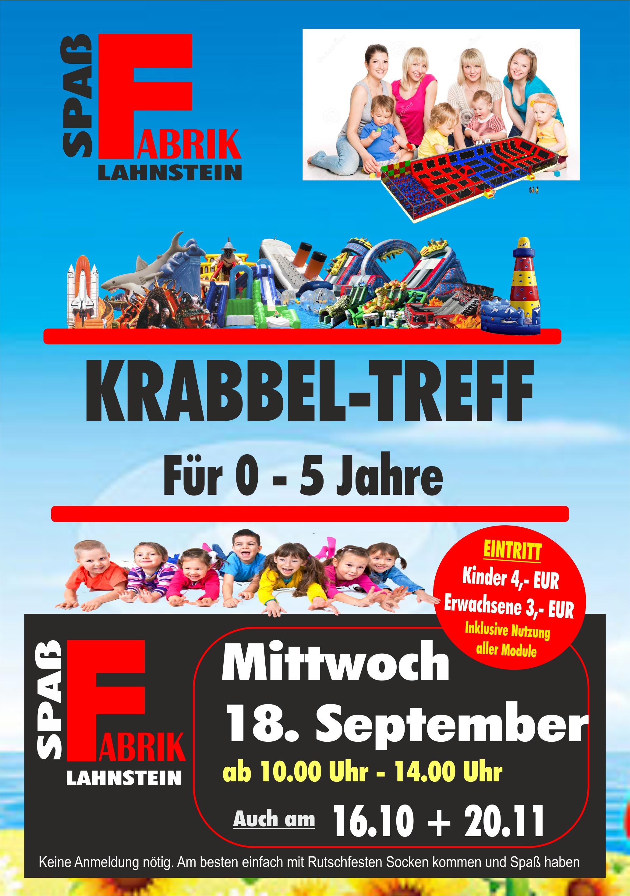 Krabbeltreff Spaßfabrik Lahnstein