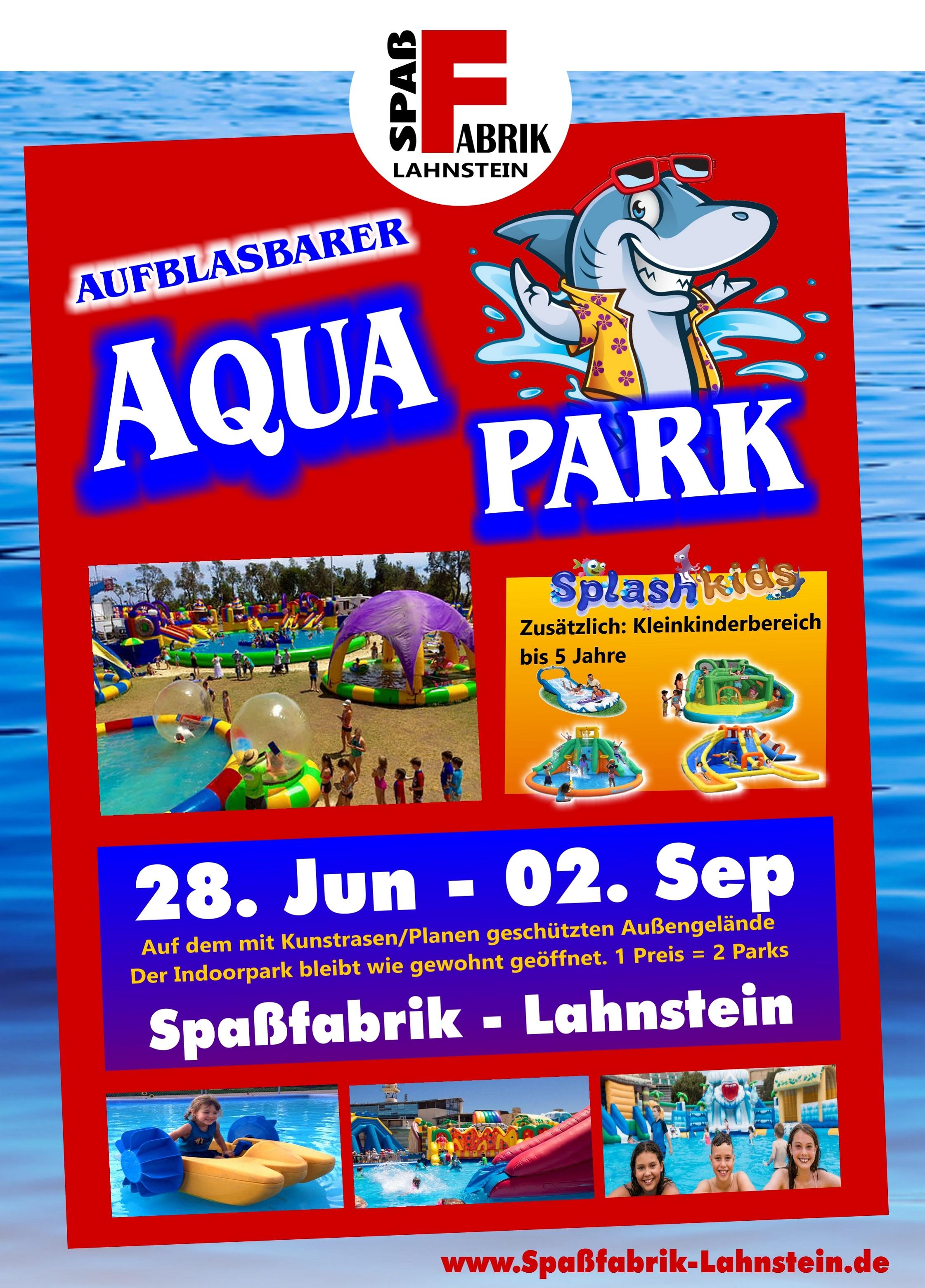 Spaßfabrik Aqua Park 2019