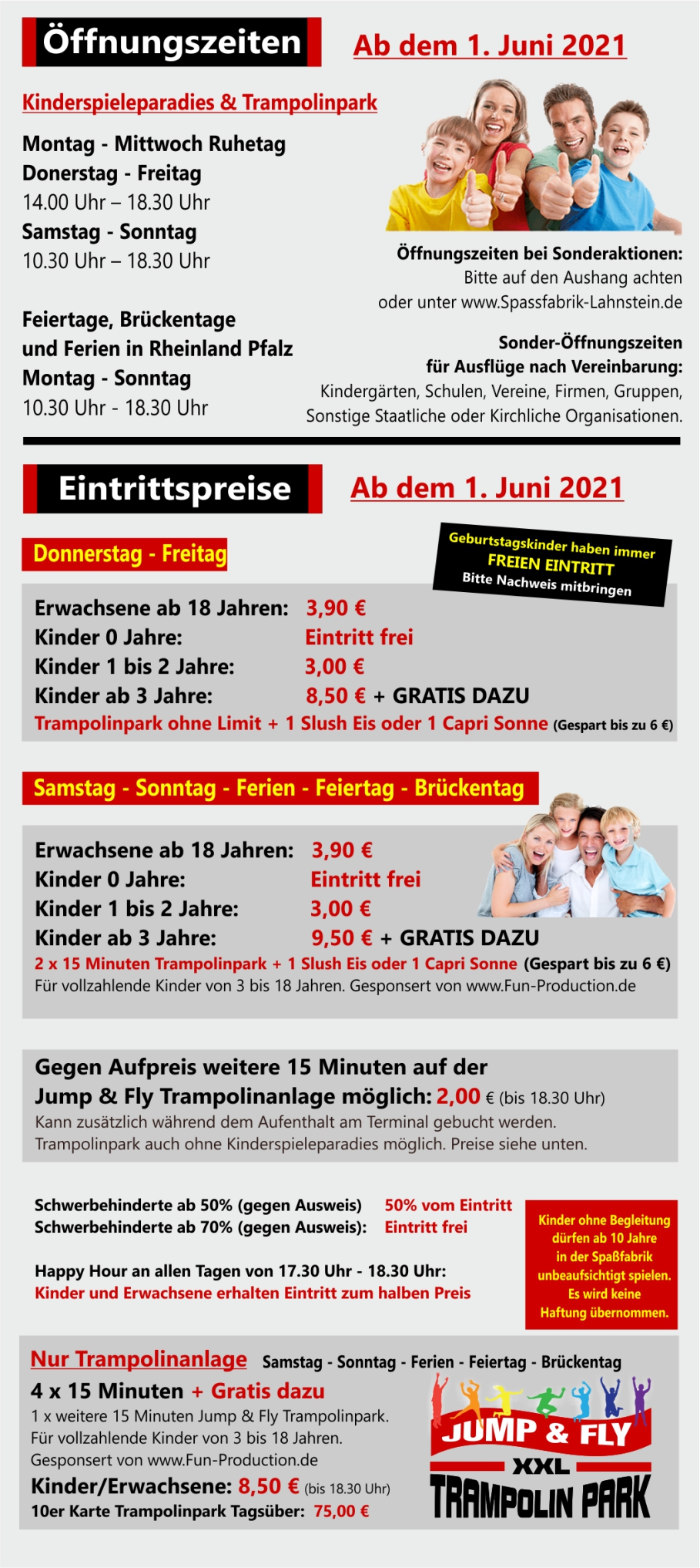preise   Spassfabrik Lahnstein